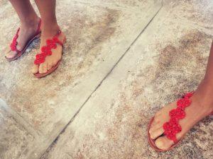 Mapetit sandália 3819 red